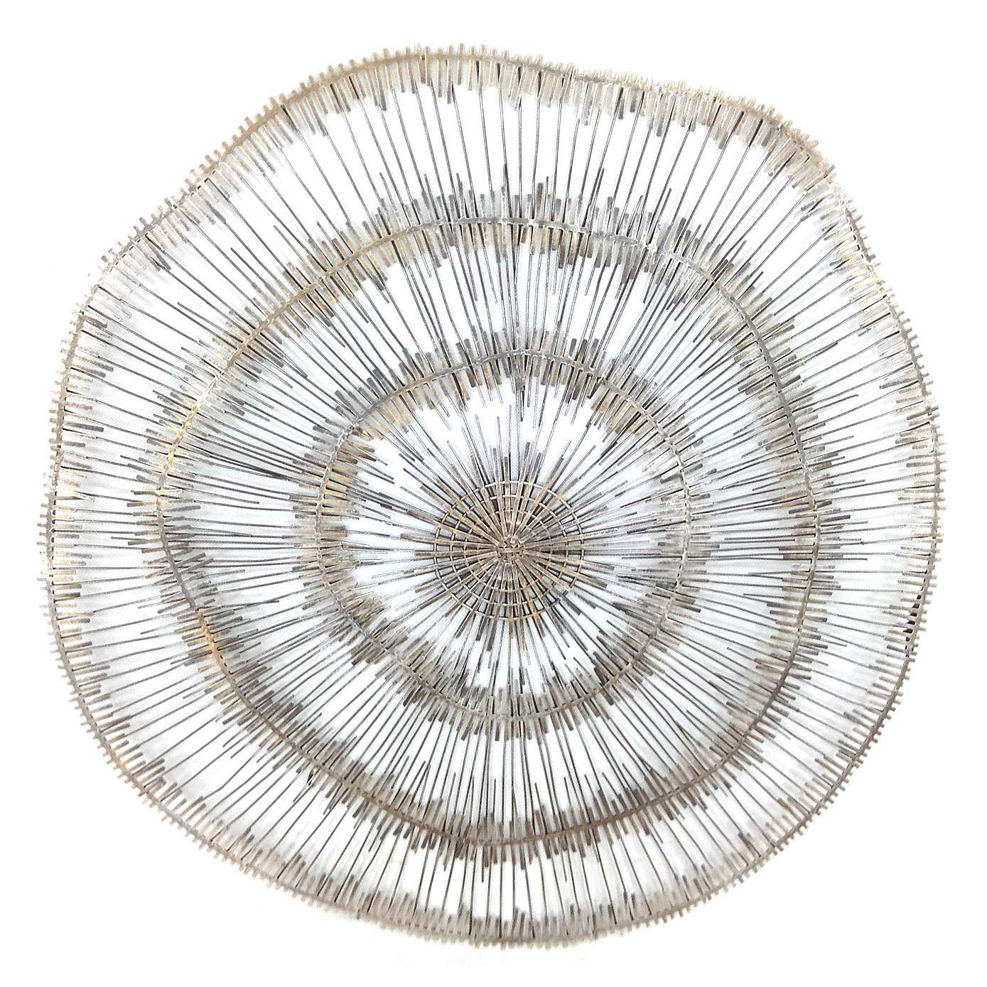Tribal circle metal wall art dunelm