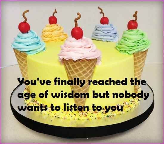 Funny Birthday Cake Quotes For Friend Birthday Wishes Pinterest