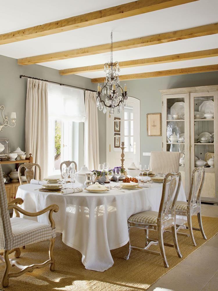 Un elegante villa in castiglia idee per decorare for Interni di charme
