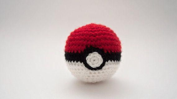 Pokéball Pokémon Crochet At Httpswwwetsycomlisting163281715