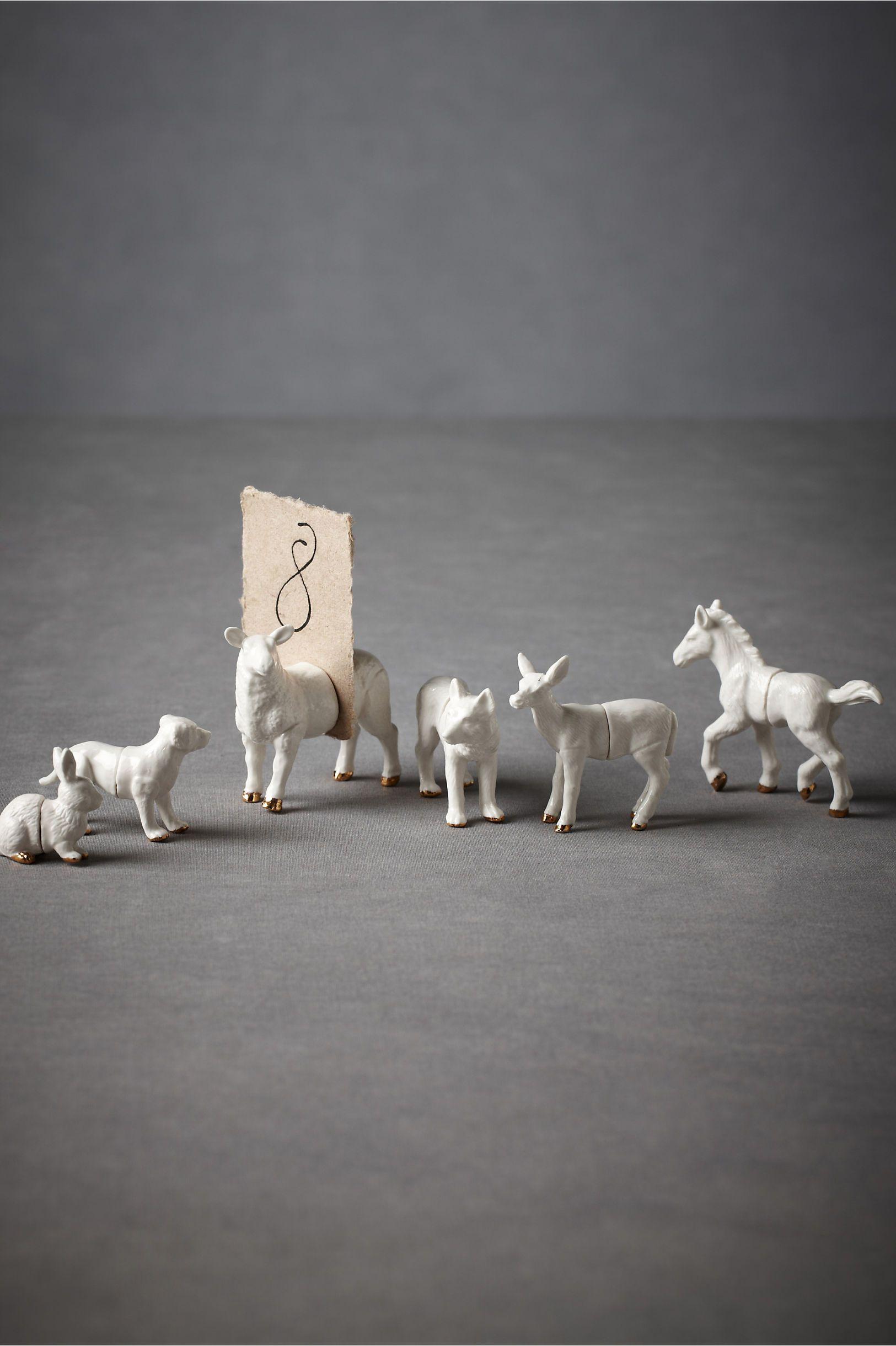 Animalia placeholders 6 plastic animals animalia