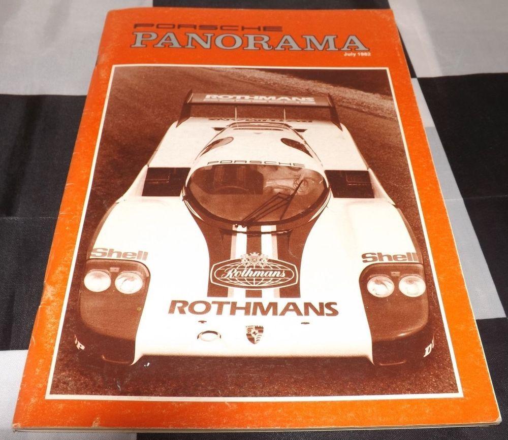Panorama Porsche Car: PANORAMA PORSCHE USA MAGAZINE JULY 1982 VOL 27 NO. 7