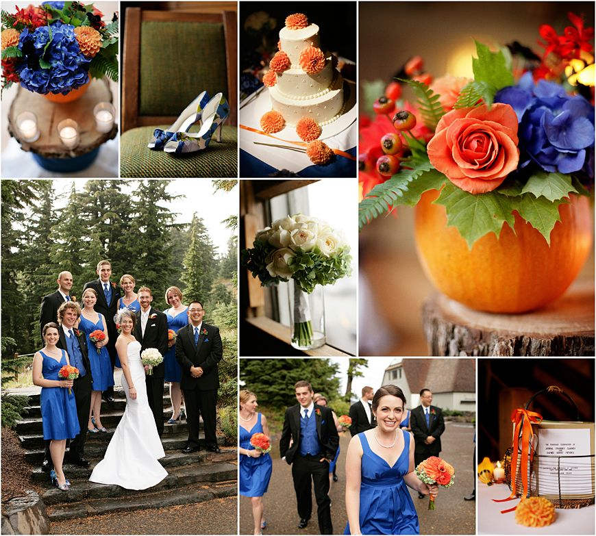 blue and orange | Illini Parties & I-Dos | Pinterest | Pumpkins ...