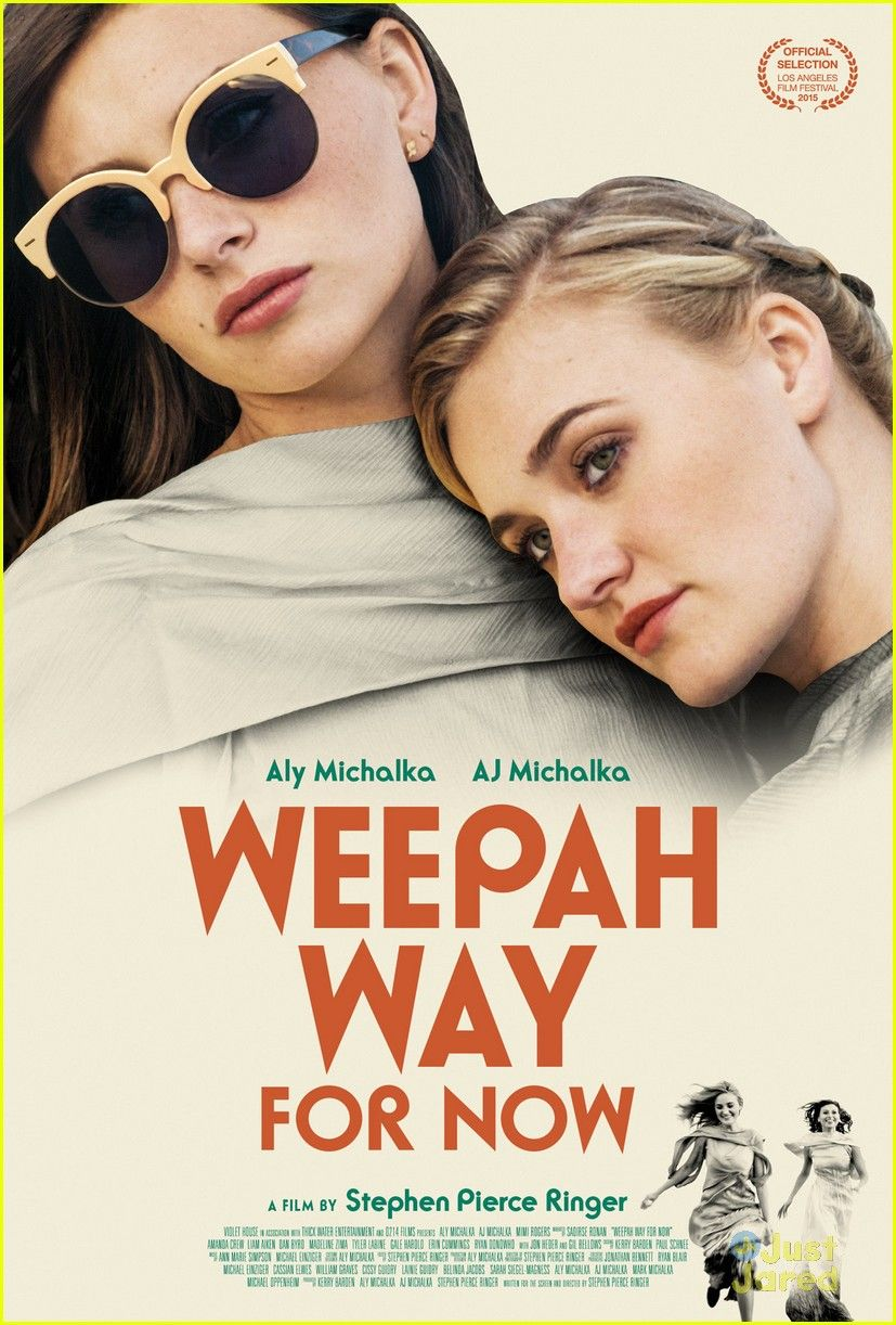 Aly Michalka Peliculas aly & aj michalka reveal 'weepah way for now' poster | my