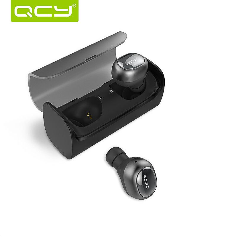 [True Wireless] QCY Q29 Mini Wireless Bluetooth 4.1 Double Dual Headphone Earphone With Charging Box