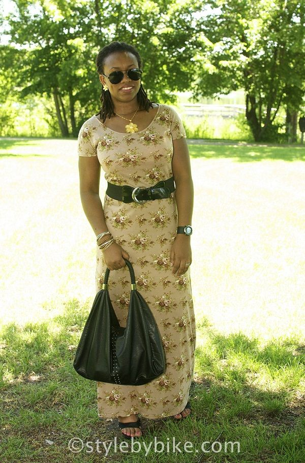 Sew a Maxi Dress in Less than an Hour | StyleByBiKé
