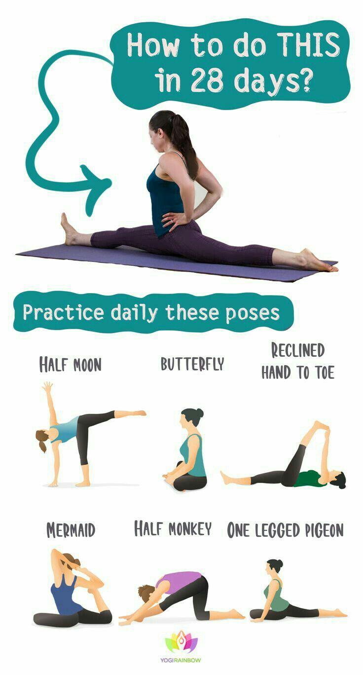 How to Do Full Split in 28 Days | Very Easy