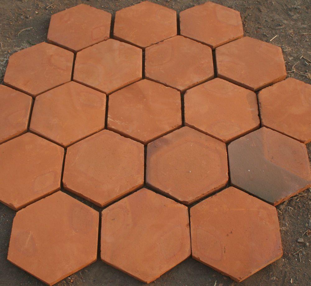 100 handmade terracotta floor tiles 10 hexagon tile in business 100 handmade terracotta floor tiles 10 hexagon tile in business office doublecrazyfo Image collections