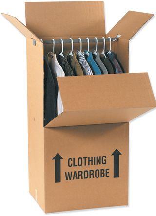 $11.95 U-Haul Grand Wardrobe Box | Click on the pin to check it ...