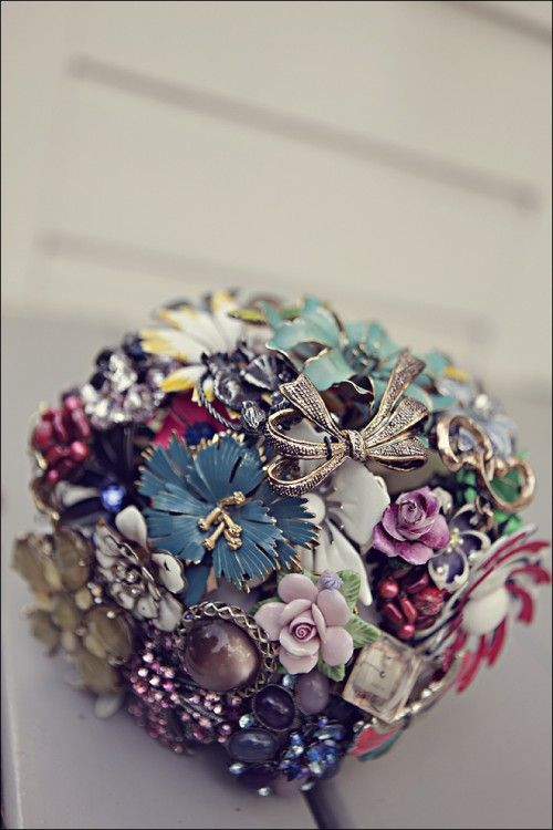 Vintage Brooch Bouquet. Tells you how much to expect to pay for one.