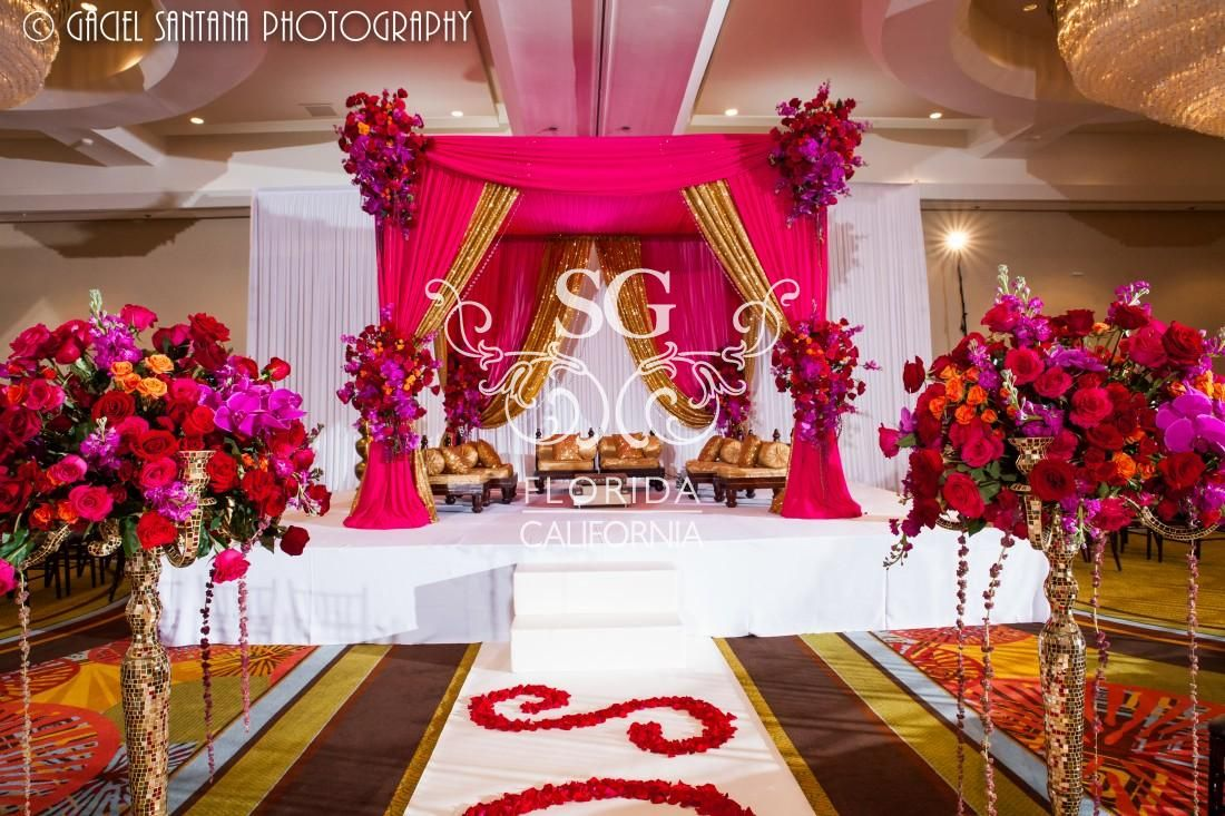 Suhaag Garden Florida Indian Wedding Decorator Event Designer