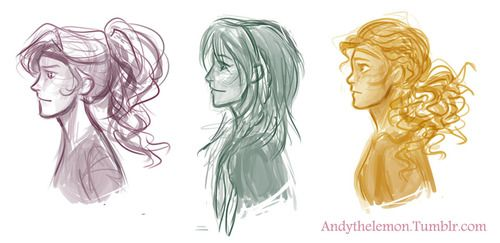 Annabeth Chase, Hazel Levesque, & Piper Mclean by andythelemon