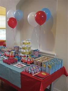 swanky::chic::fete: dr. seuss sweets table [first birthday party]