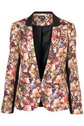 Co-Ord Autumn Floral Blazer