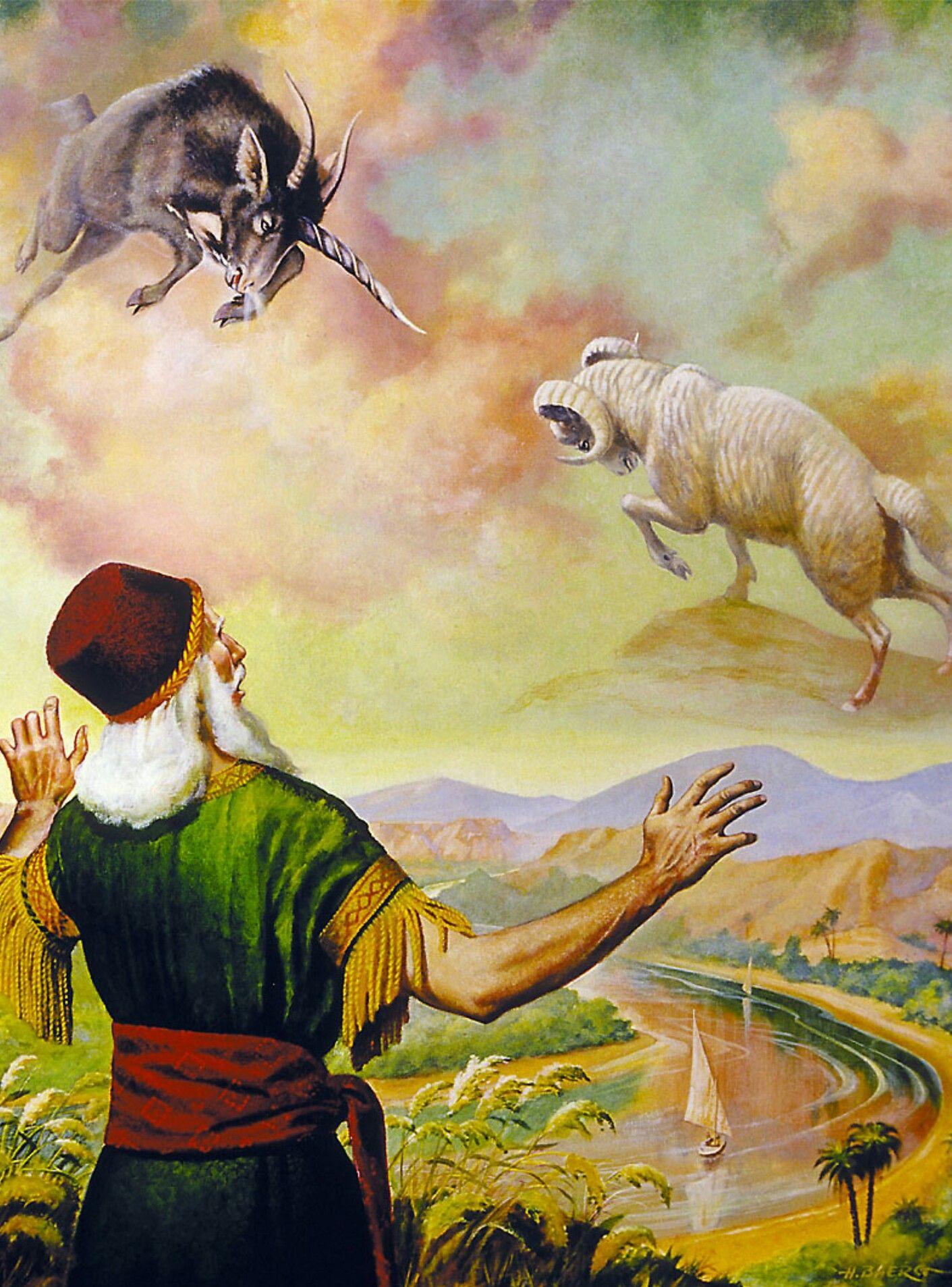 Gabriel explica la visión a Daniel. (Daniel 8:15-27)