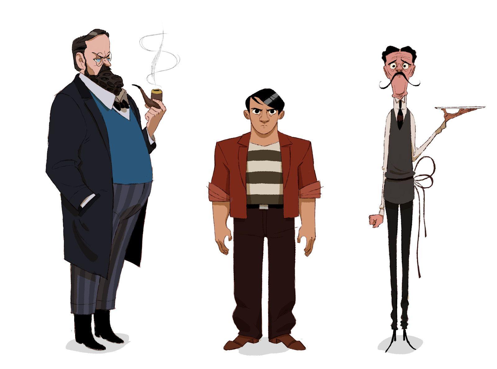 Character Design Progettazione Dei Personaggi Pdf : Art by thibault leclercq website