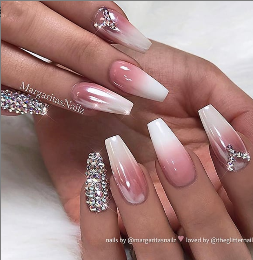 Pin by Rob 🌞 on Nails ideas | Pink glitter nails