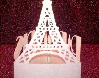 Cubiertos de París: Cubiertos Torre Eiffel París Party