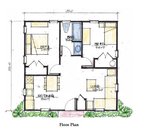 Miner model d floor plan moms house 500 sq ft house house plans tiny house plans - 500 sq ft apartment floor plan ...