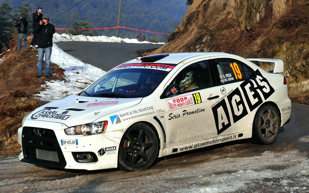 Alex Proh - Angelo Dell\'Agostino, Evo X, IRC Rally Monte-Carlo ...