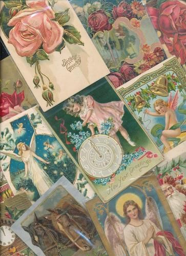 70 Huge BOX LOT Antique Mixed Holidays Greetings Postcards Vintage EEE994   eBay