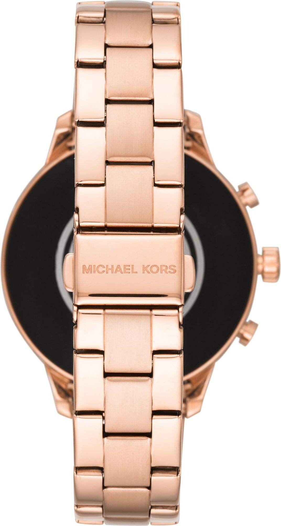 Michael Kors Damen Smartwatch Mit Edelstahl Armband Mkt5052