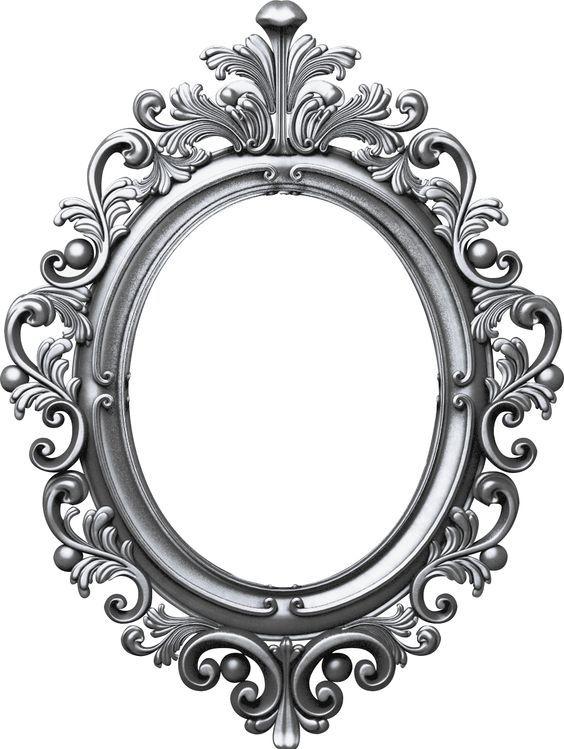 Antique Oval Frame | Photo frame design