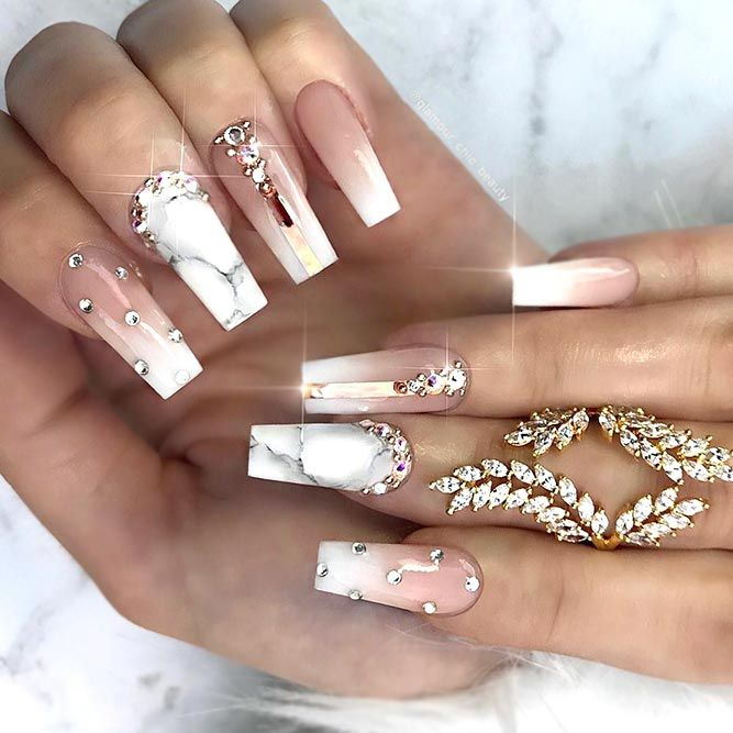 30+ Ideas Of Luxury Nails To Really Dazzle