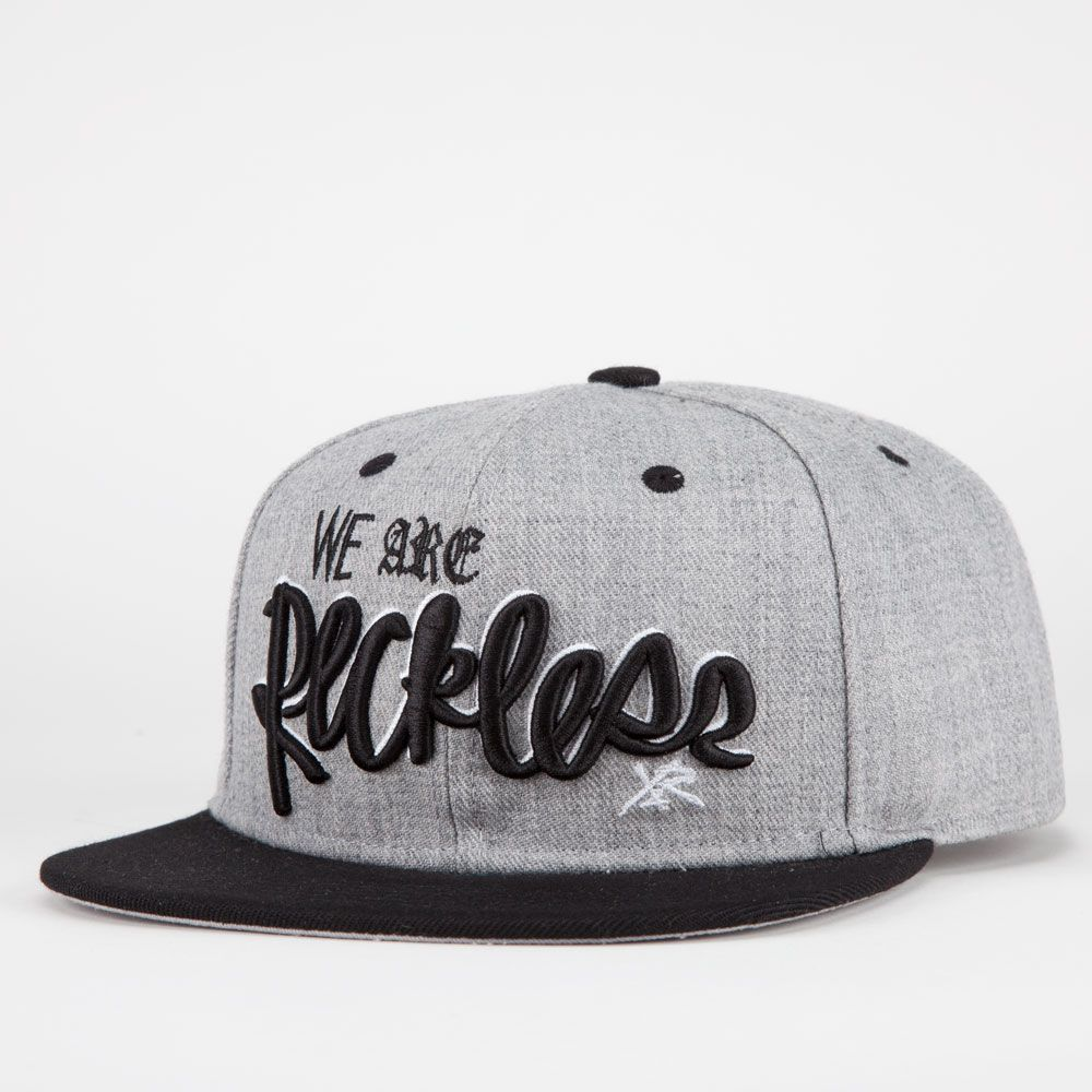 YOUNG   RECKLESS We Are Reckless Mens Snapback Hat 211677127 ... da7f093a3e6