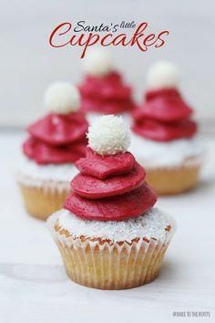 nikolaus cupcakes recipe adventszeit weihnachten. Black Bedroom Furniture Sets. Home Design Ideas