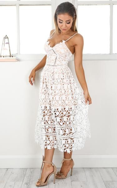 Summer White Out Lace Crochet Dress Crochet Crochet Lace