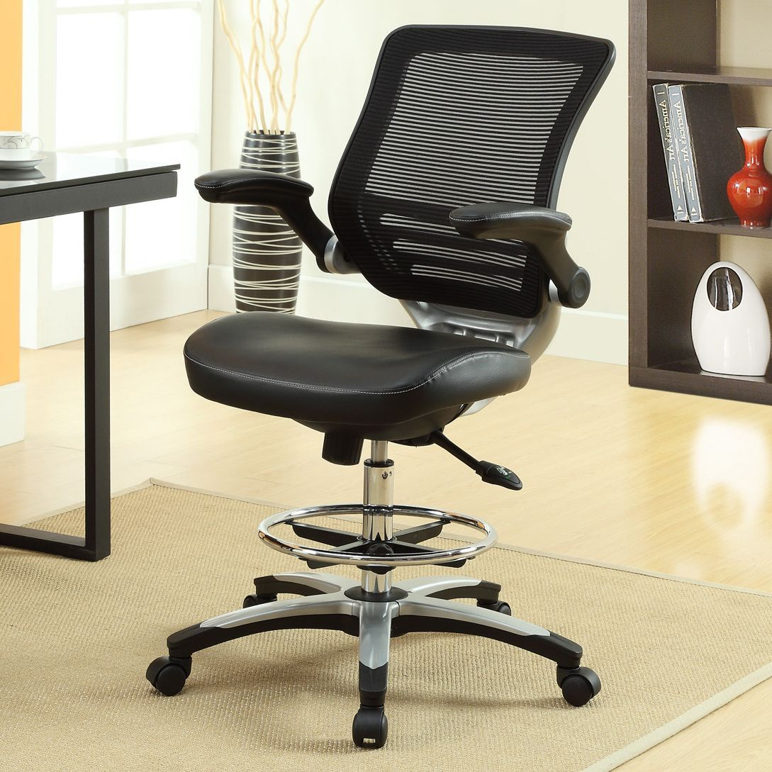 lexmod focus edge desk chair resin wicker chairs home depot office drafting expert event