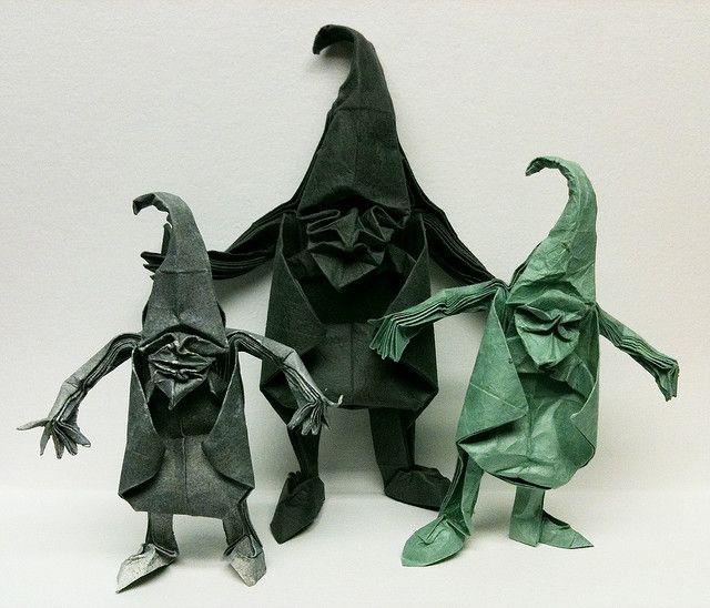 The origami book: Origami Tanteidan Joas special edition 2012 | 548x640