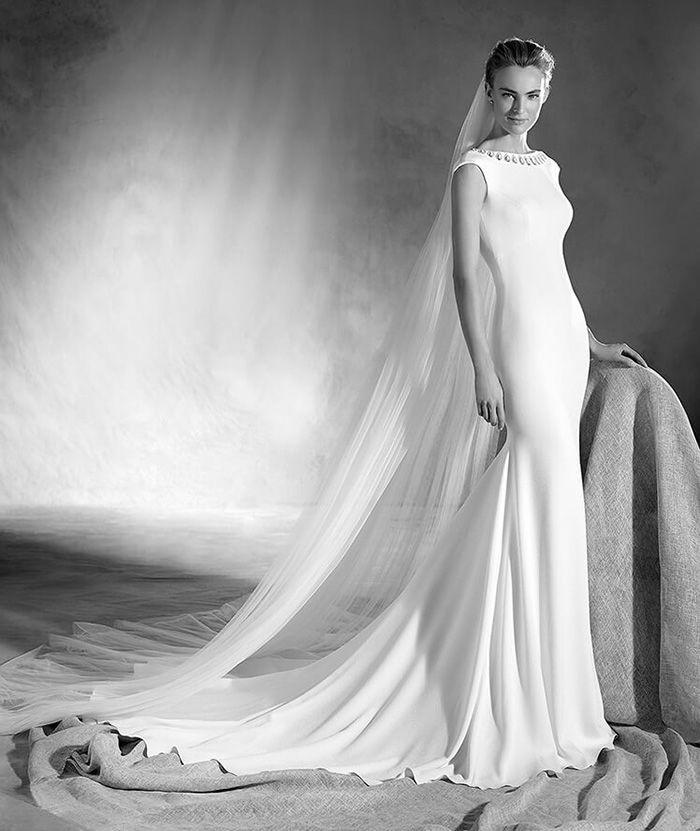 10 Slim & Sleek Wedding Gowns | Gowns, Wedding and Wedding bells