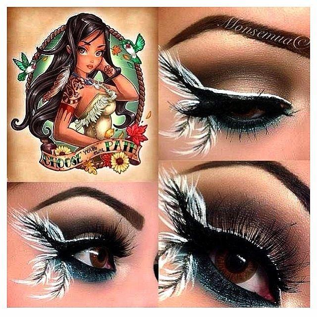 disney inspired makeup   Disney Pocahantus Inspired Makeup   Disney Inspired....Make-Up and ...