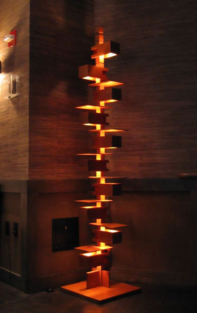 taliesin 2 floor lamp diy sometime lighting floor lamp frank lloyd wright. Black Bedroom Furniture Sets. Home Design Ideas