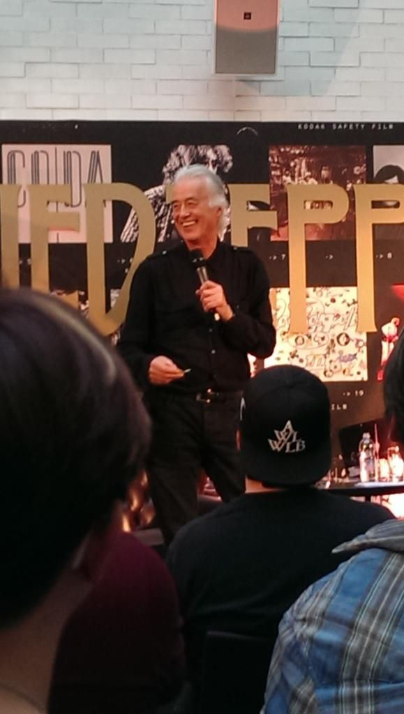 Jimmy Page London 4 Jun 2015