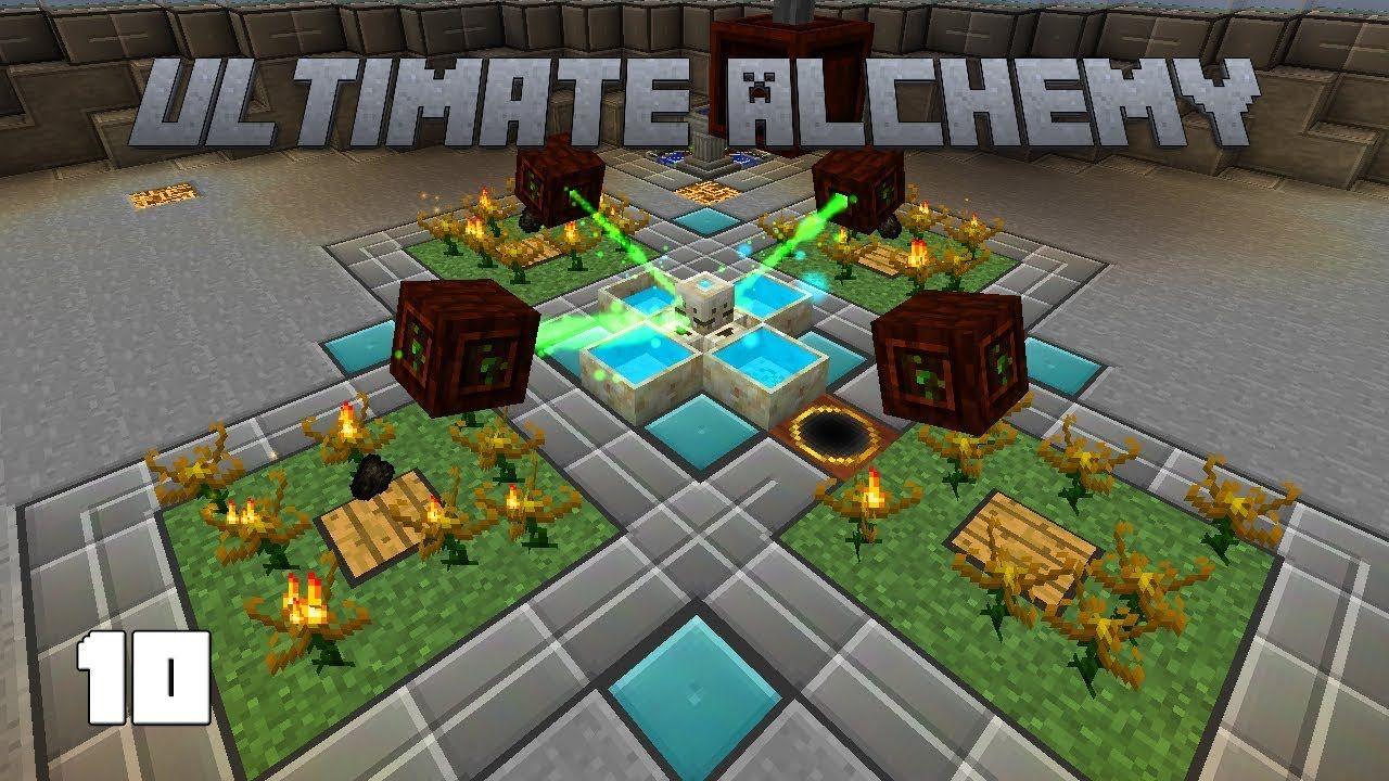 Ultimate Alchemy EP10 Quartz Automation Emeralds