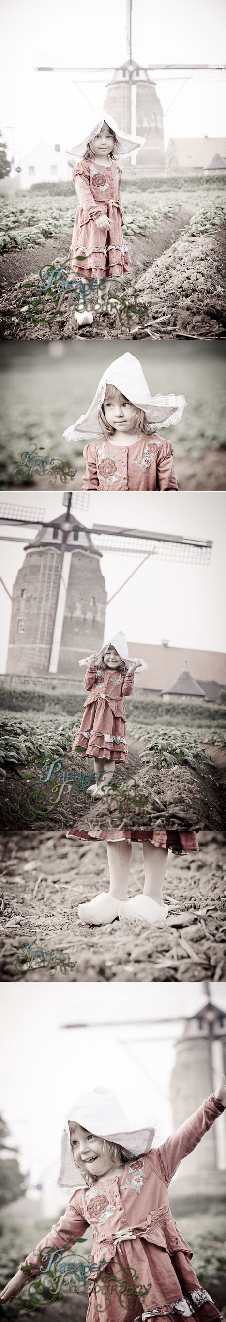 A short guide on how to do a little Dutch Girl themed photoshoot from findingstorybookland.com.