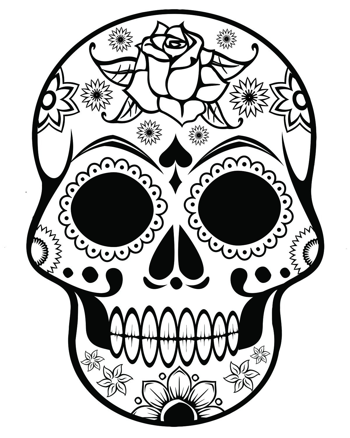 Pin Von April Dikty Auf Skulls Sugar Skulls Pinterest