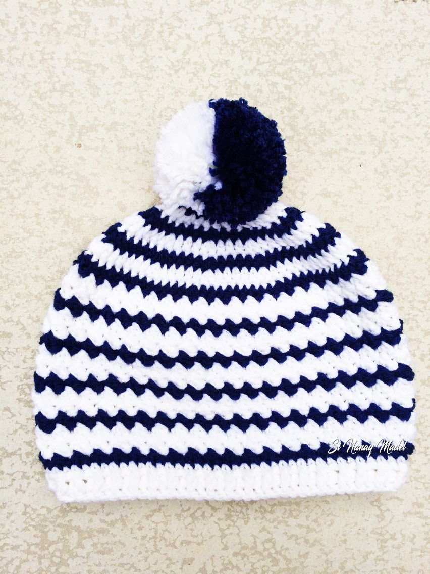 This Pattern here is the hat version of my Billie Hat & Cowl Set ...