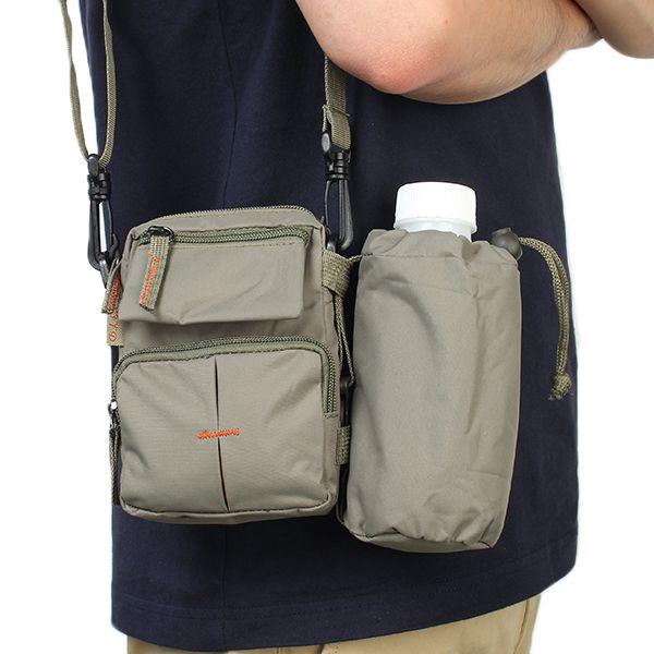 0179bd2238 Nylon Waterproof Mini Crossbody Bag Outdoor Sport Travel Waist Bag Cell  Phone Pocket