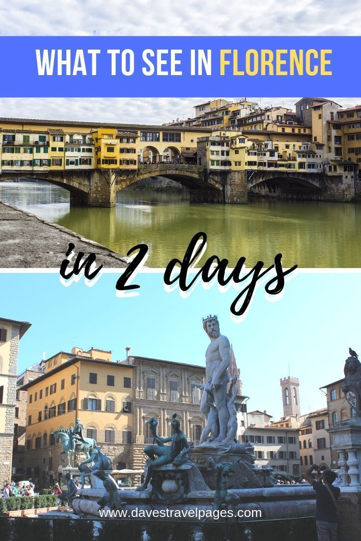 2 Days in Florence: Best things to see in Florence, Italy in 2 days. Ponte Vecchio, David, food, travel tips, tour ideas, and more. #florence #italy #florenceitaly #itinerary #thingstosee #florenceitinerary #traveltips #travelguide