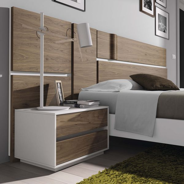 Matrimonio Bed Info : Detalle ambiente dormitorio matrimonio chapa natural