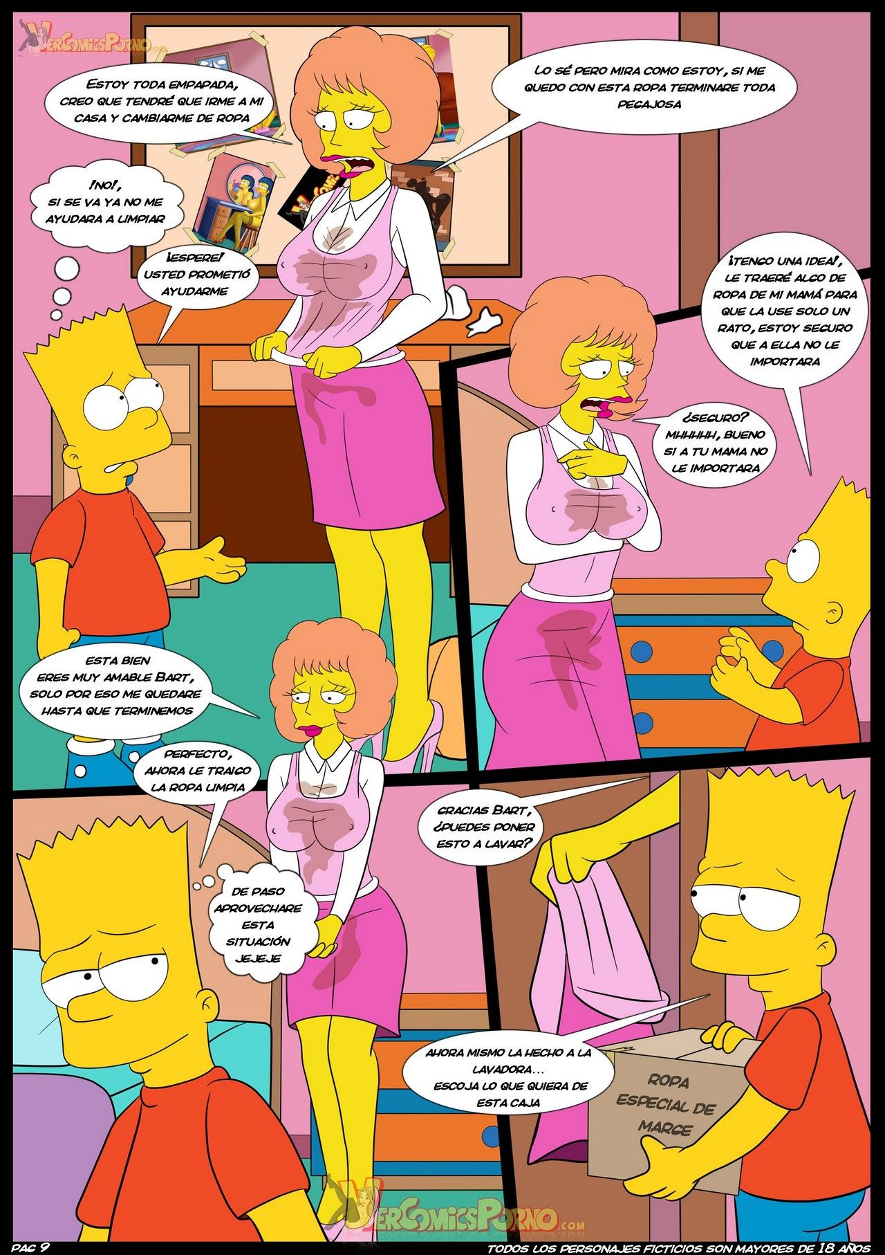 Lisa simpson sex comic strp
