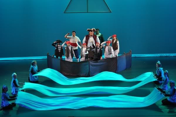 yep definitely love the fabric waves in sets of 3 little mermaid production ideas. Black Bedroom Furniture Sets. Home Design Ideas