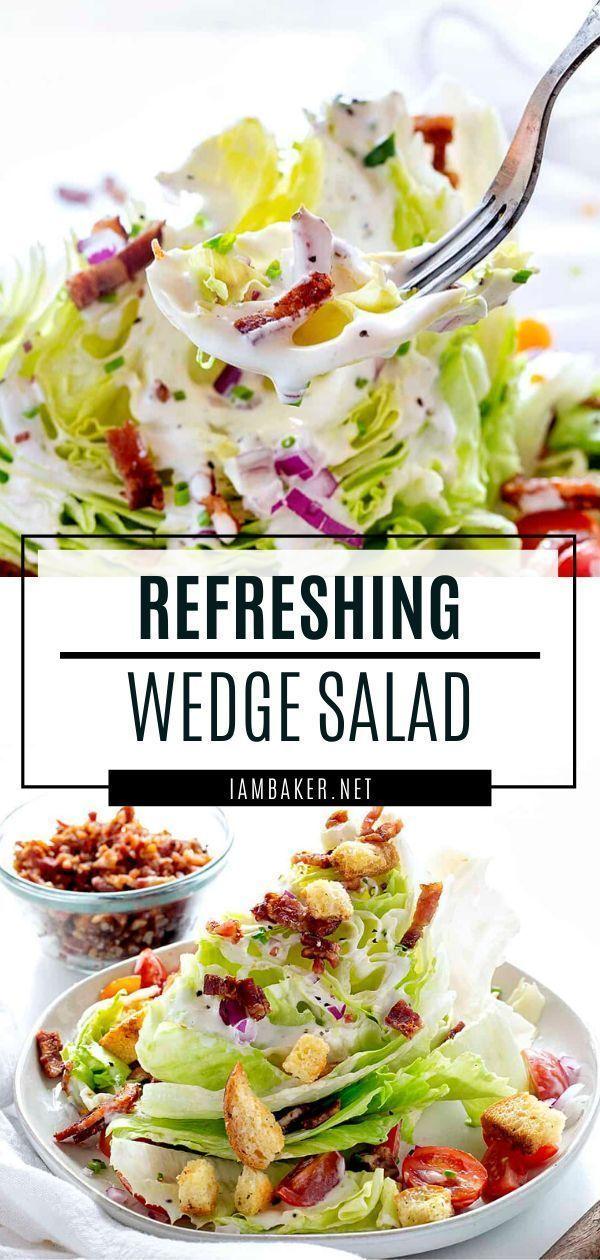 Healthy Instant Pot Recipes Today Show Recipes Chex Mix Recipes Kale Recipes In 2020 Wedge Salad Recipes Easy Wedge Salad Salad Recipes