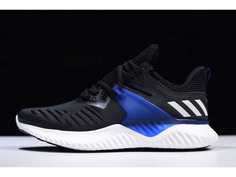 Adidas Alphabounce Beyond 2 M Black Royal Blue White Bd7082