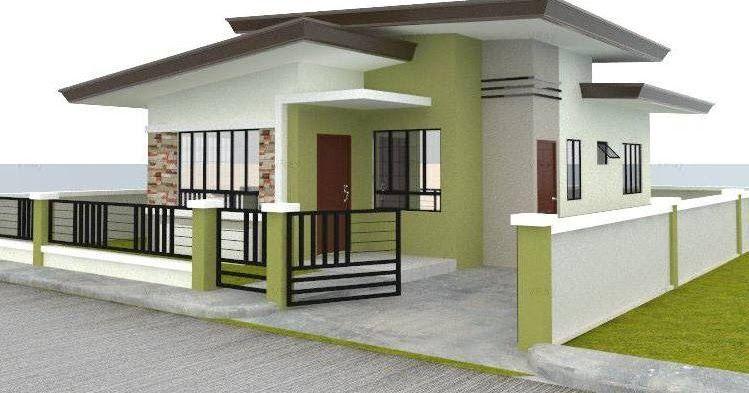 55 Gambar Desain Rumah Minimalis Type 45 Modern Kreatif 15 Desain Teras Depan Rumah Minimalis In 2020 Small House Design Bungalow House Design Modern Bungalow House