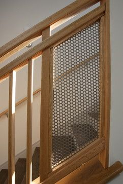 This use of metal screen is very nice.